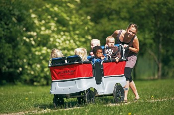 Turtle Kinderbus Basic für 6 Kinder