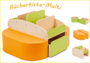 "Bücherkiste ""MULTI"""
