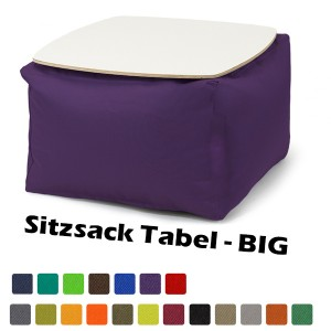 Sitzsack Table BIG - Outdoor & Indoor